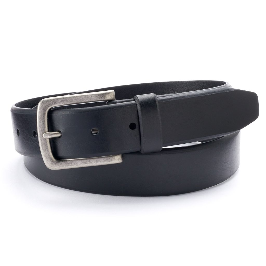 Croft & Barrow Bevel-Edge Casual Belt - Men