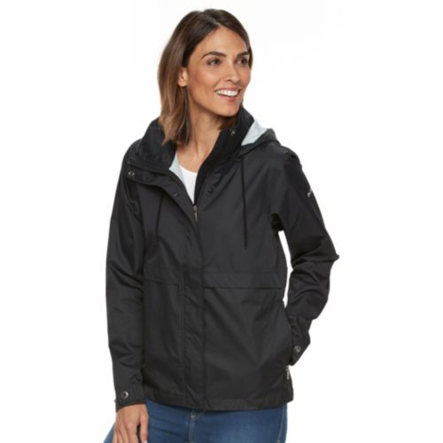 Women's Columbia Spring Run Hooded Short Trench Jacket