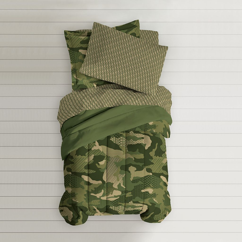 Dream Factory Camouflage Bed Set
