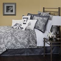 Marquis by Waterford Katana Damask 4-pc. Comforter Set