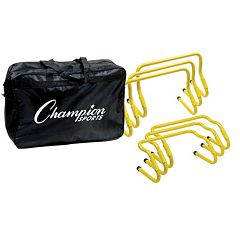Champion Sports 6 pc Adjustable Hurdle Set