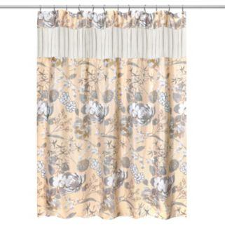 Popular Bath Ashley Fabric Shower Curtain
