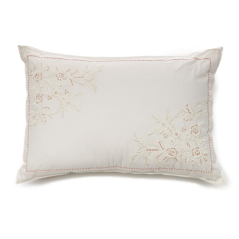 Chaps Garden Cove Embroidery Throw Pillow