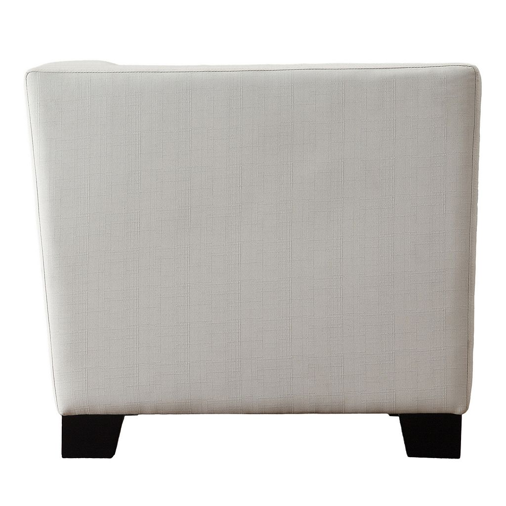HomeVance Ladera White Loveseat