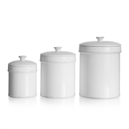 American Atelier Bianca Dash 3-pc. Kitchen Canister Set