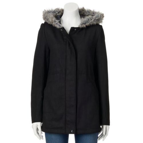 Women's Krush Hooded Faux-Wool...