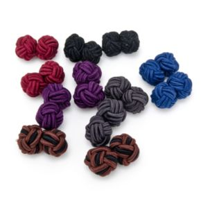 12-Piece Knot Cuff Link Set