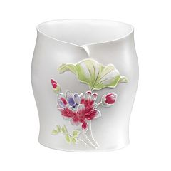 Popular Bath Flower Haven Wastebasket