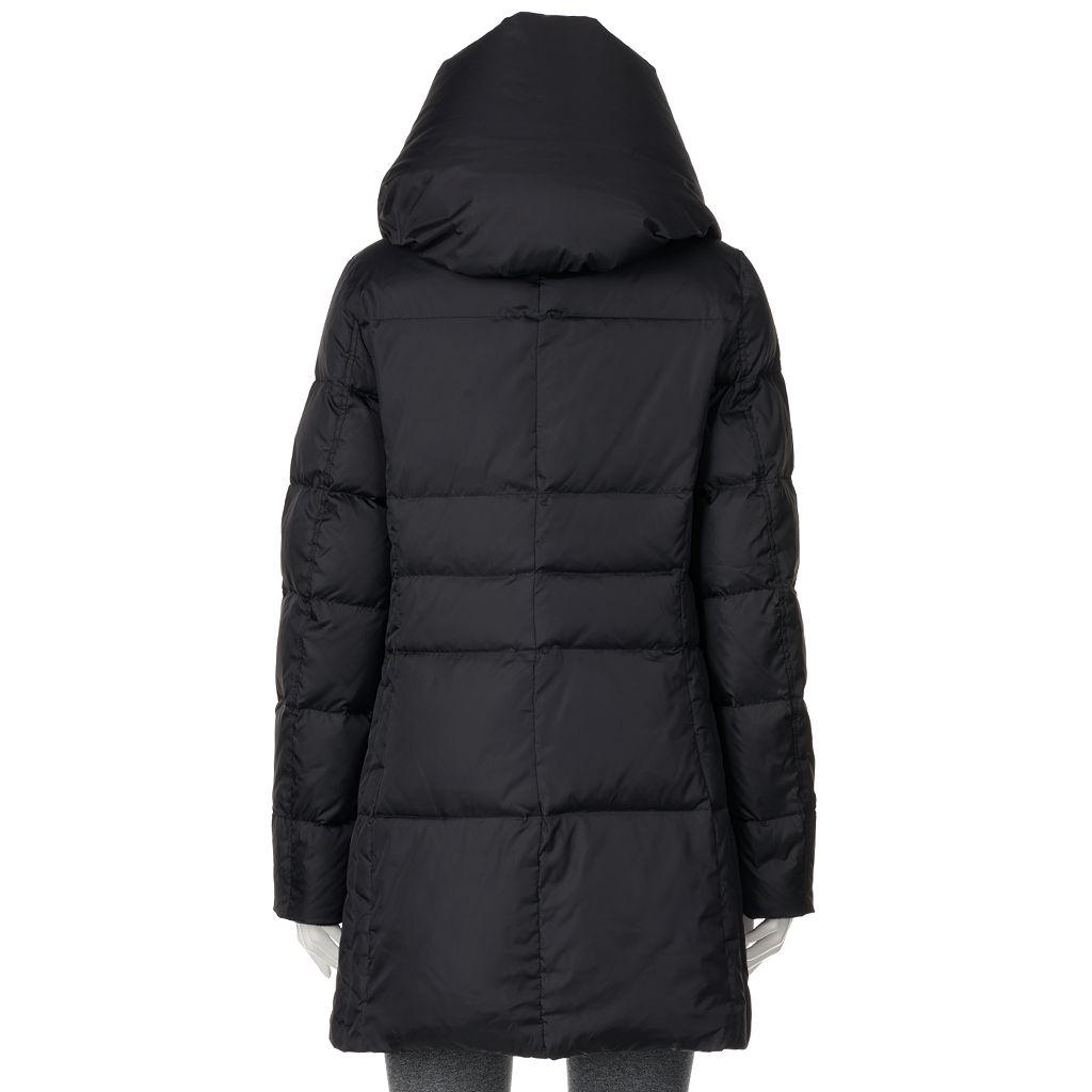 Women's Hemisphere Pillow Collar Down Puffer Jacket