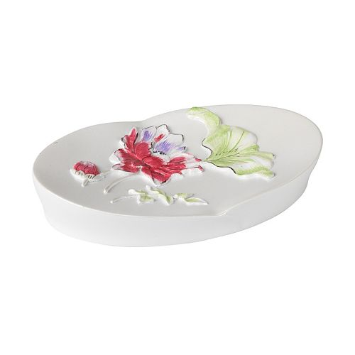 Popular Bath Flower Haven Soap Dish