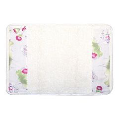 Popular Bath Flower Haven Bath Rug