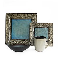 American Atelier Via Roma 16-pc. Square Dinnerware Set