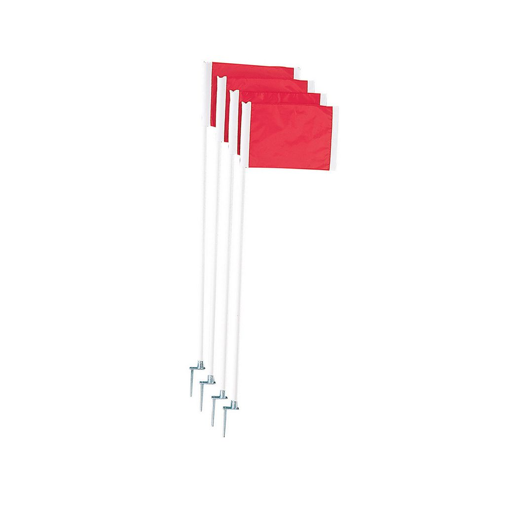 Champion Sports 4-pc. Soccer Corner Flag Set With Steel Peg