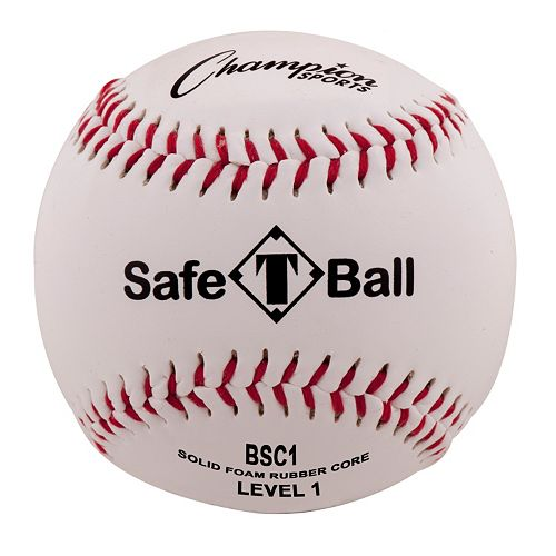 Champion Sports 12-pk. Level 1 Soft Compression Baseballs - Youth