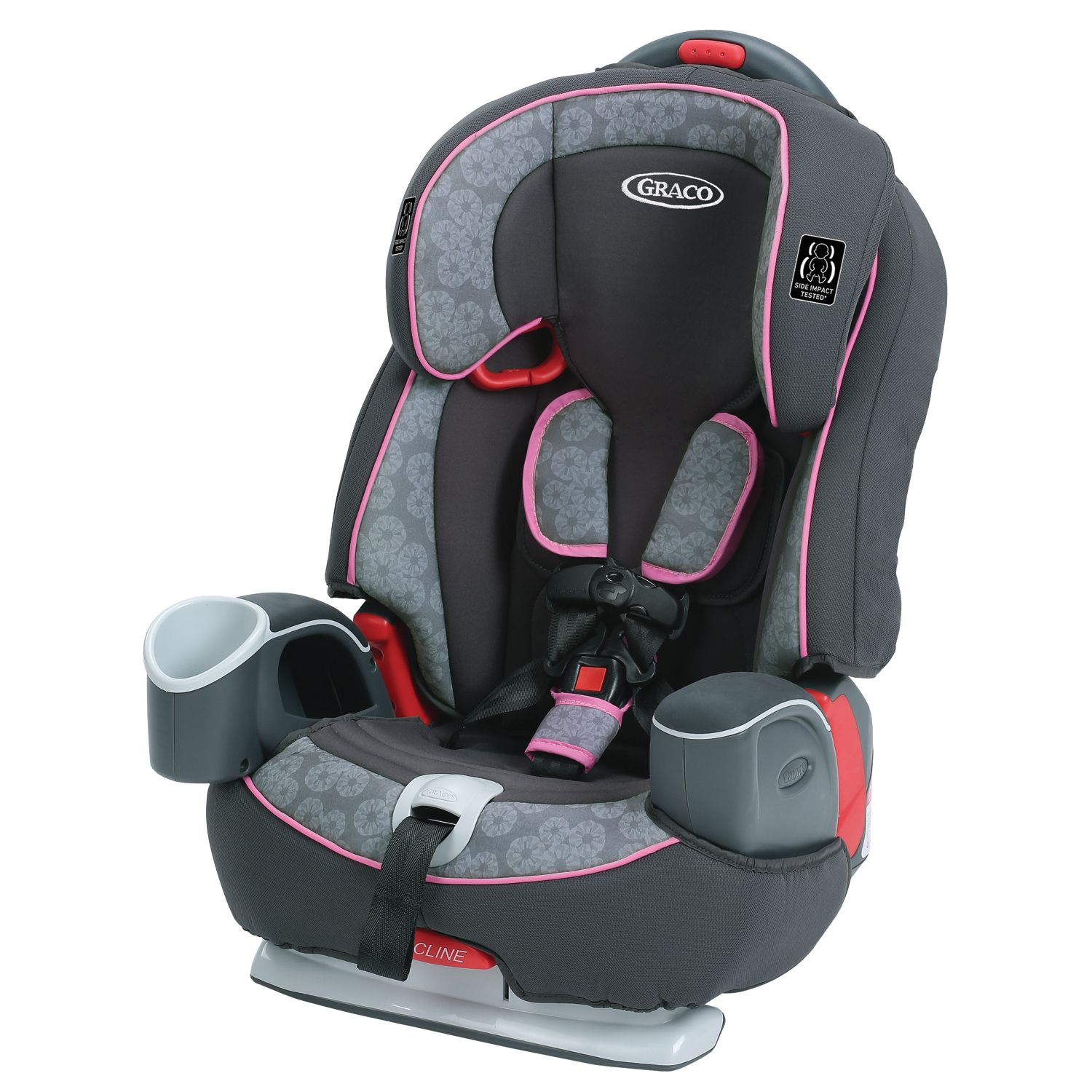 1 Harness Booster Car Seat