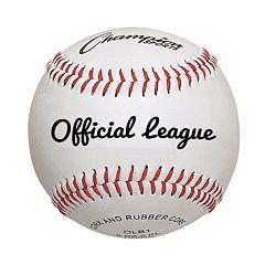 Champion Sports 12 pkOfficial League Baseballs