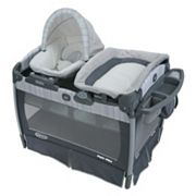 Graco Pack 'n Play Playard & Nuzzle Nest Sway Seat