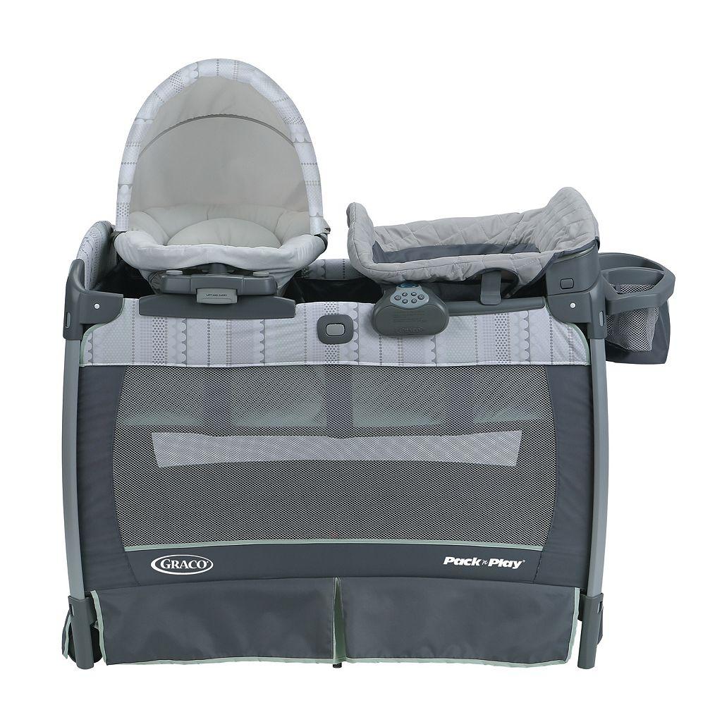 Graco Pack 'n Play Playard & Nuzzle Nest Sway Seat