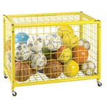 "Champion Sports 29.75"" x 42"" Locking Ball Storage Locker"