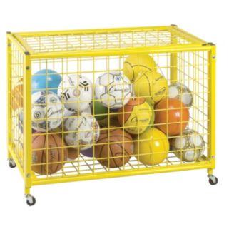 "Champion Sports 29.75"" x 42"" Locking Ball Storage Locker"