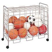 Champion Sports 40' x 39' Portable Ball Locker