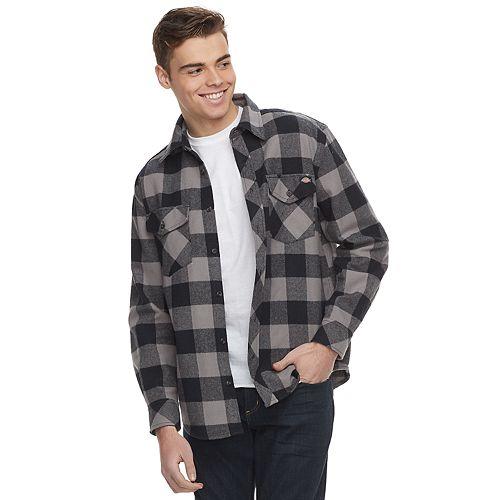 1f77edb9337 Men s Dickies Plaid Flannel Shirt