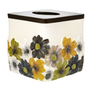 Popular Bath Floral Bouquet Tissue Box Cover