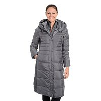 Women's Fleet Street Hooded Long Down Puffer Coat
