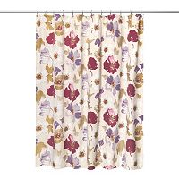 Popular Bath Dahlia Fabric Shower Curtain