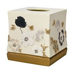 Popular Bath Dahlia Tissue Box Cover