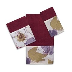 Popular Bath Dahlia 3-pc. Bath Towel Set