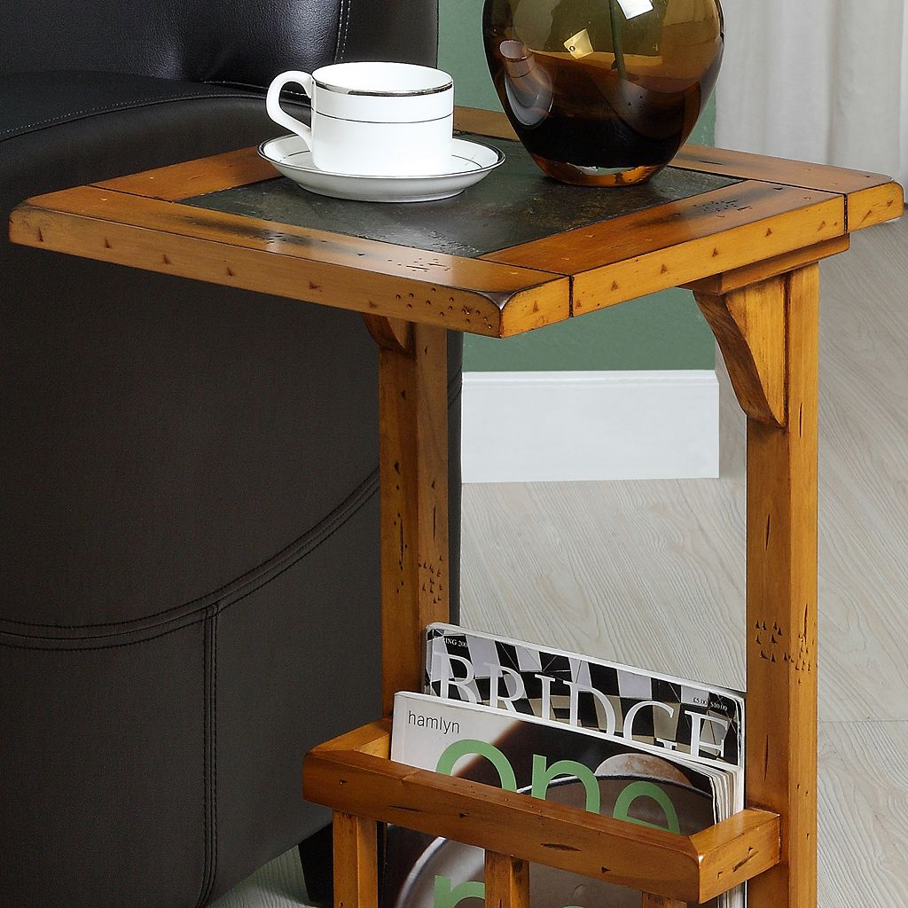 HomeVance Meridian End Table