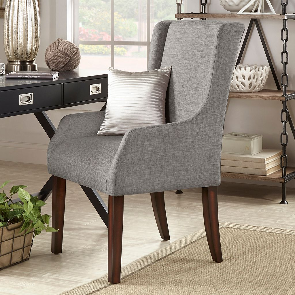 HomeVance Beverly Solid Arm Chair