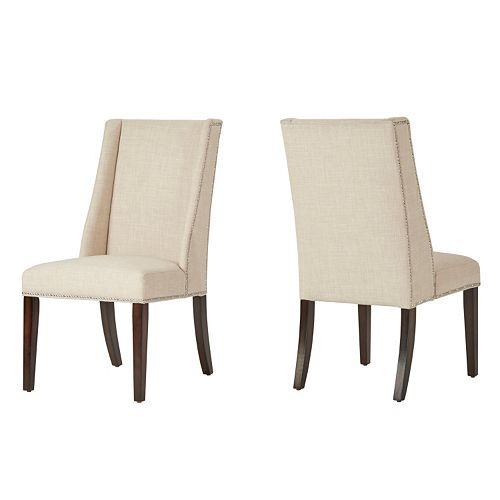 HomeVance Park Row 2-piece Classic Wingback Chair Set