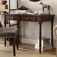 HomeVance Granton 2-Drawer Writing Desk