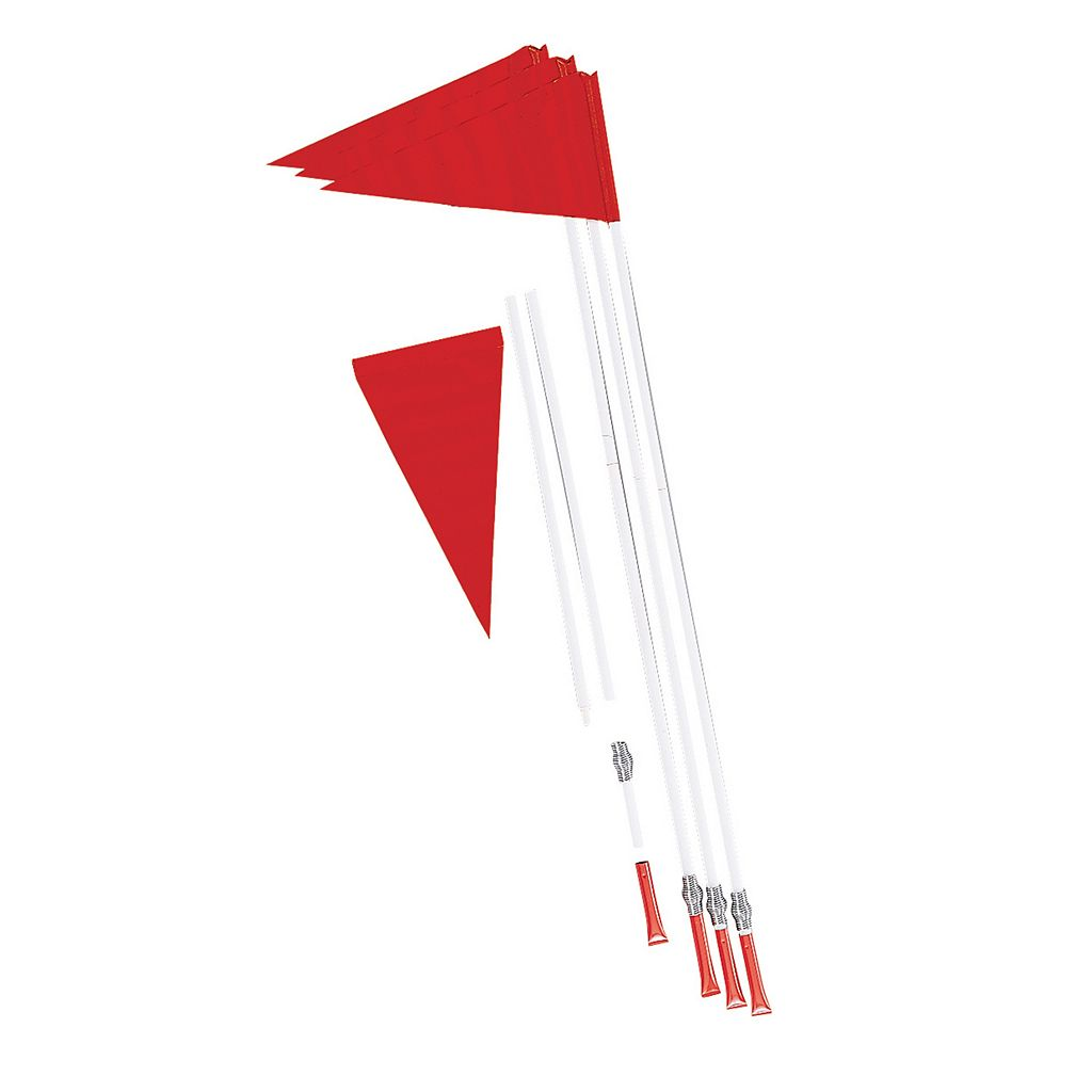 Champion Sports 4-pc. Soccer Spring-Loaded Corner Flag Set