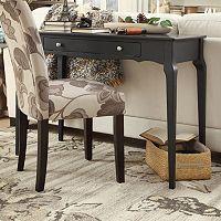 HomeVance Isabella 1-Drawer Writing Desk