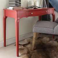 HomeVance Isabella 1-Drawer Writing Desk