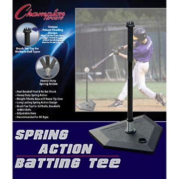 Champion Sports Spring Action Batting Tee