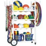 Champion Sports High Impact All-Terrain Heavy-Duty Sporting Equipment Cart