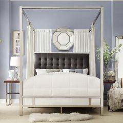 HomeVance Barton Hills Canopy Bed