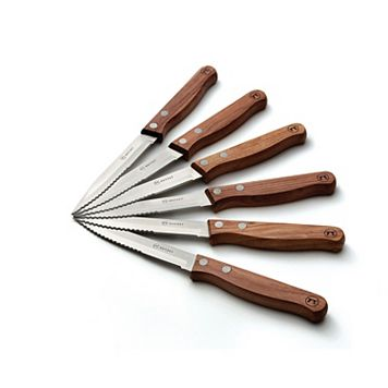 Outset 6-pc. Rosewood Steak Knife Set