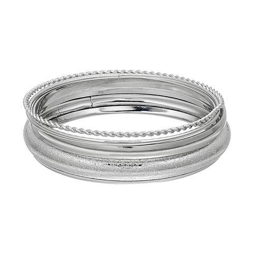 SONOMA Goods for Life™ Textured Bangle Bracelet Set