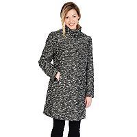 Women's Excelled Boucle Faux-Wool Coat