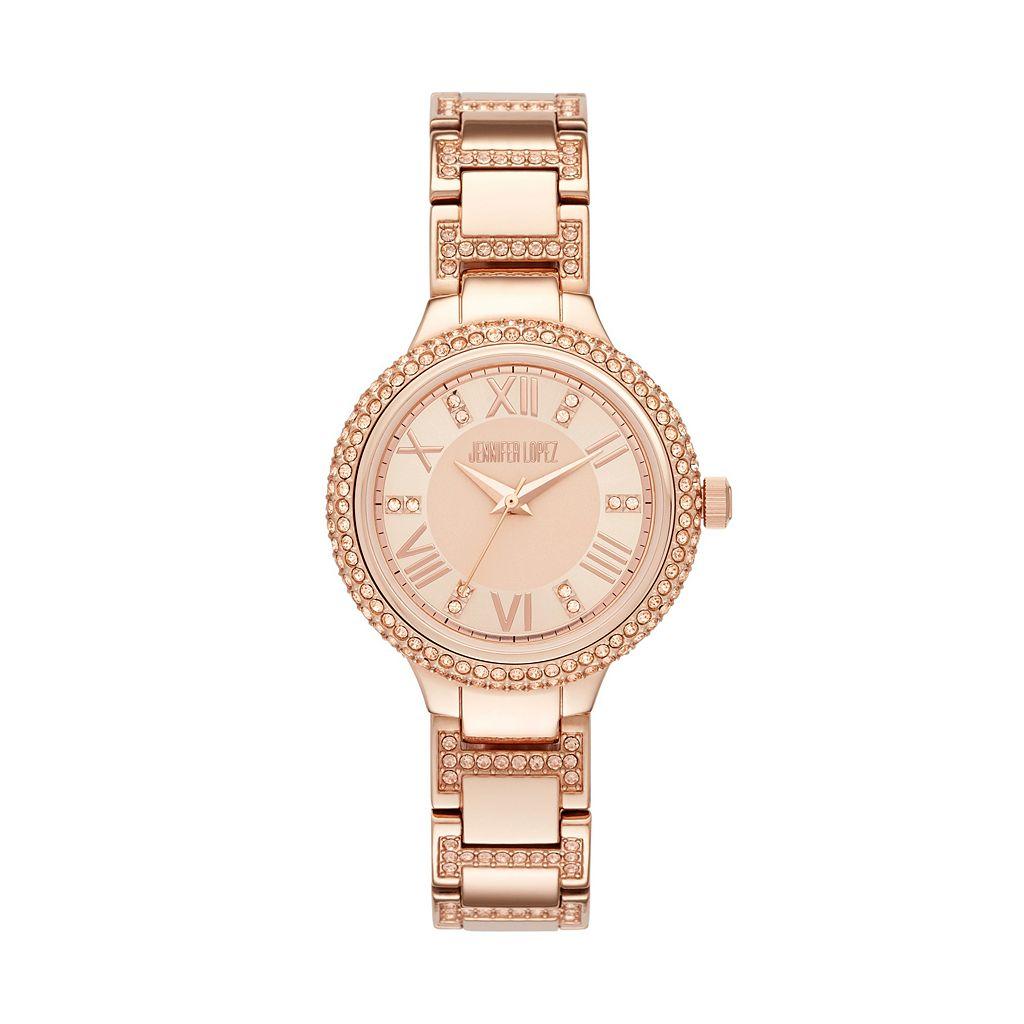 Jennifer Lopez Women's Hollie Stainless Steel Watch