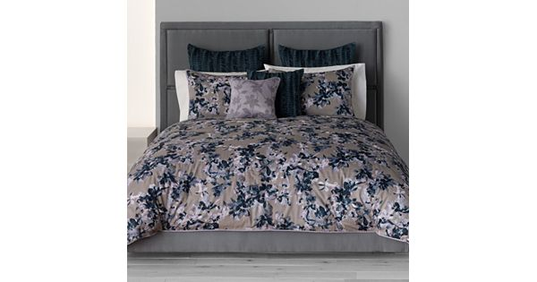 Simply Vera Vera Wang Midnight Floral 3 Pc Comforter Set