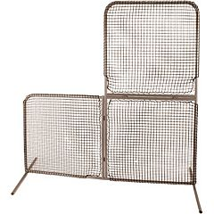 Champion Sports Baseball Varsity Folding L Screen