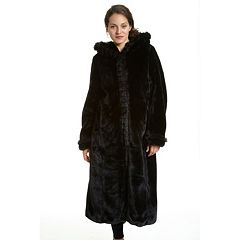 Womens Black Faux Fur Coats & Jackets - Outerwear, Clothing | Kohl's