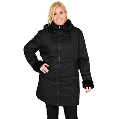 Plus Size Excelled Hooded Jacket