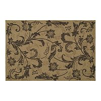 Kaleen Home & Porch Rivoli Floral Indoor Outdoor Rug